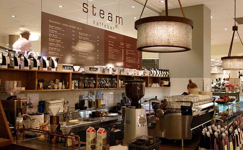 Bilde av steam kaffebar