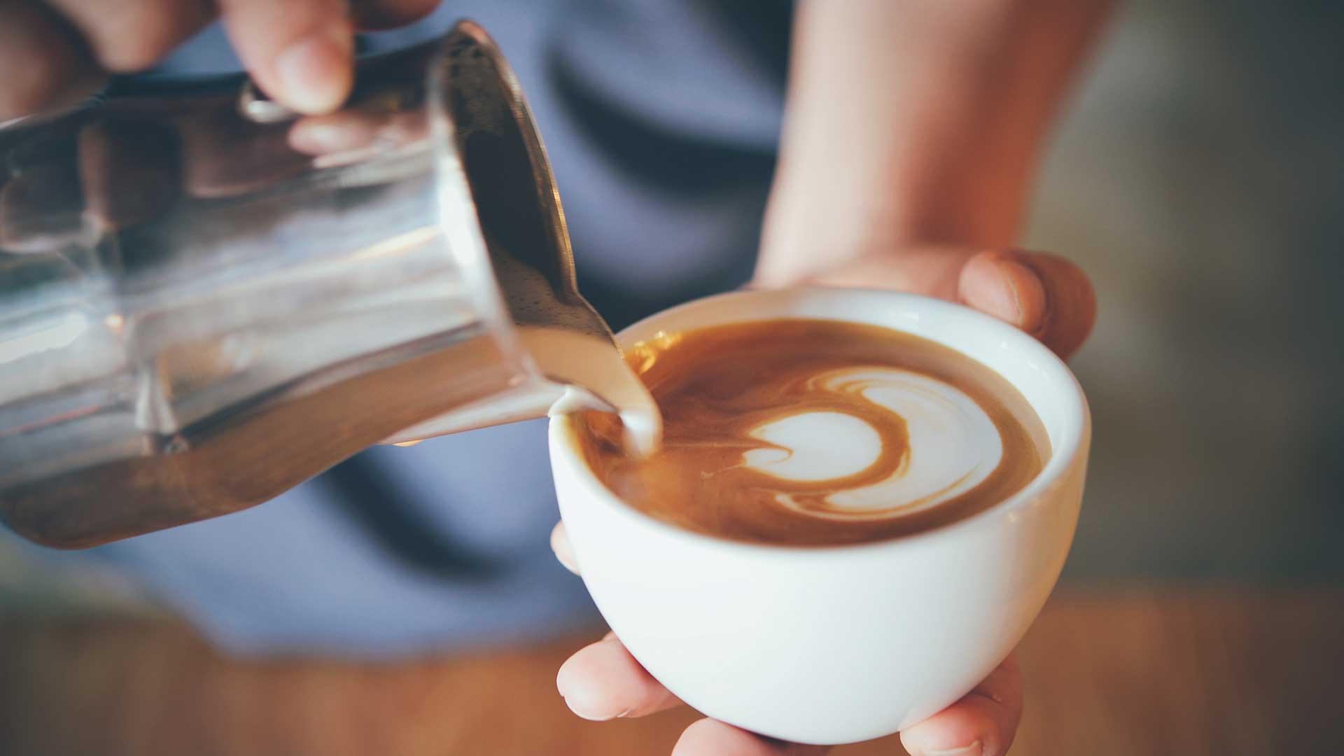 Bilde av cappuccino kopp